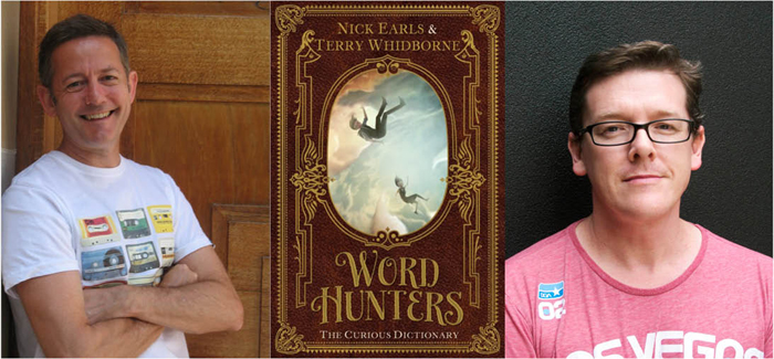 Author Nick Earls (left) and illustrator Terry Whidborne (right)
